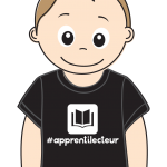 "Tee-shirt Bedaine Love ""APPRENTI LECTEUR"" Clinique Expression"