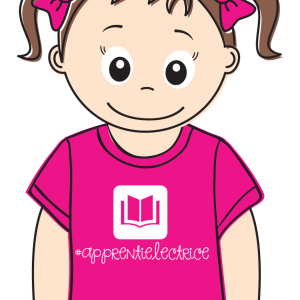 "Tee-shirt Bedaine Love ""APPRENTIE LECTRICE"" Clinique Expression"