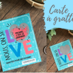 CARTE A GRATTER BE LOVE - NOUS ON SE LOVE