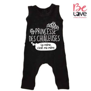 BARBOTEUSE ROOMPER BE LOVE - BEDAINE LOVE PRINCESSE CHIALEUSE