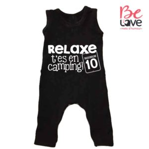 BARBOTEUSE ROOMPER BE LOVE - BEDIANE LOVE RELAX CAMPING